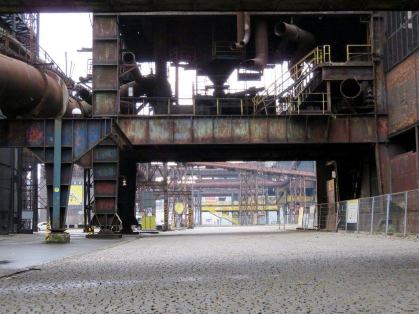 ehemaliges Stahlwerk in Ostrava