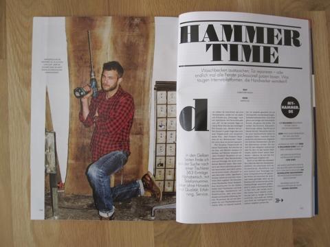Erfahrungen mit Handwerkerplattformen wie MyHammer: Ein Foto der Zeitschrift Nido, in der mein Artikel ursprünglich erschienen ist.