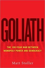 """Coverabbildung von Matt Stollers Buch """"Goliath"""""""