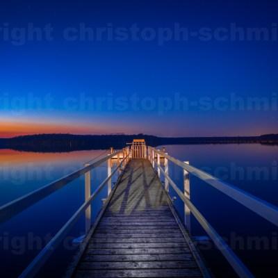 Himmelgleicher Abendsee