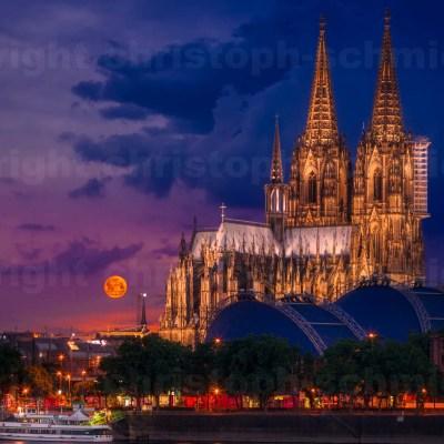 Kölner Dom im Morgenlicht