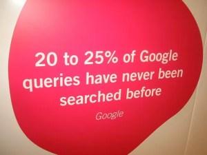 La longue traine selon Google