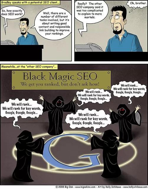 référencement magique