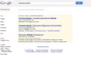 requete google