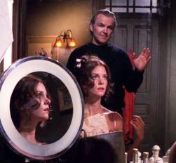"Dana (Lesley Warren) tangles with the scheming Erik Schilling (Anthony Zerbe) in ""The Amateur"""