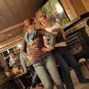 Trace Welser & Liz Argall dance