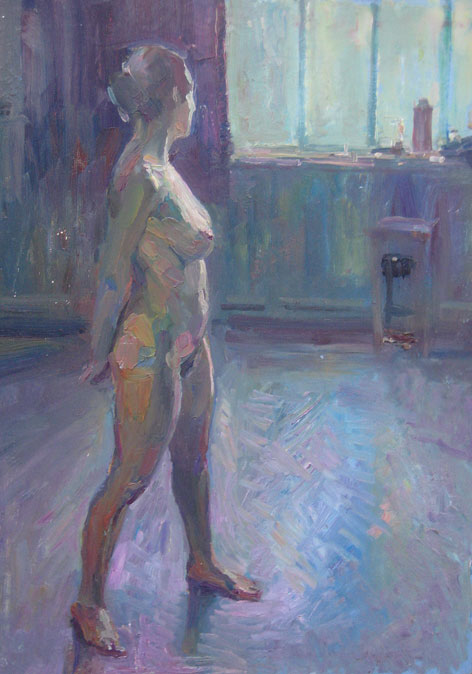 Paintings Portraits and Figures  Christopher Alexander