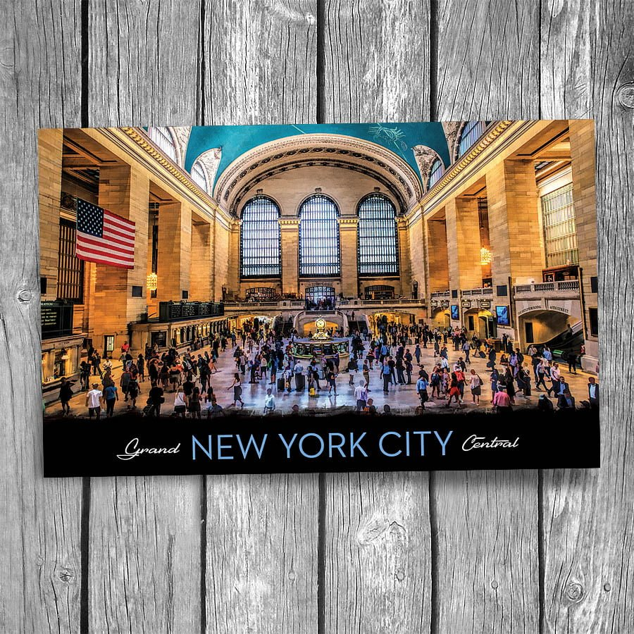 Grand Central Terminal New York City Postcard