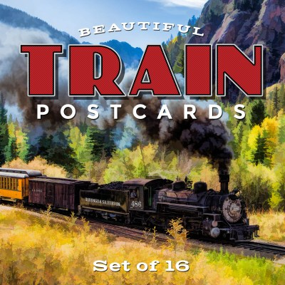 Train Postcards | Set of 16