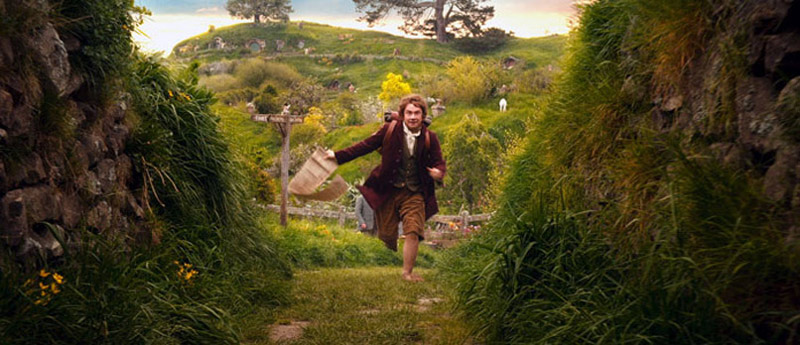 Bilbo Baggins goes on an adventure