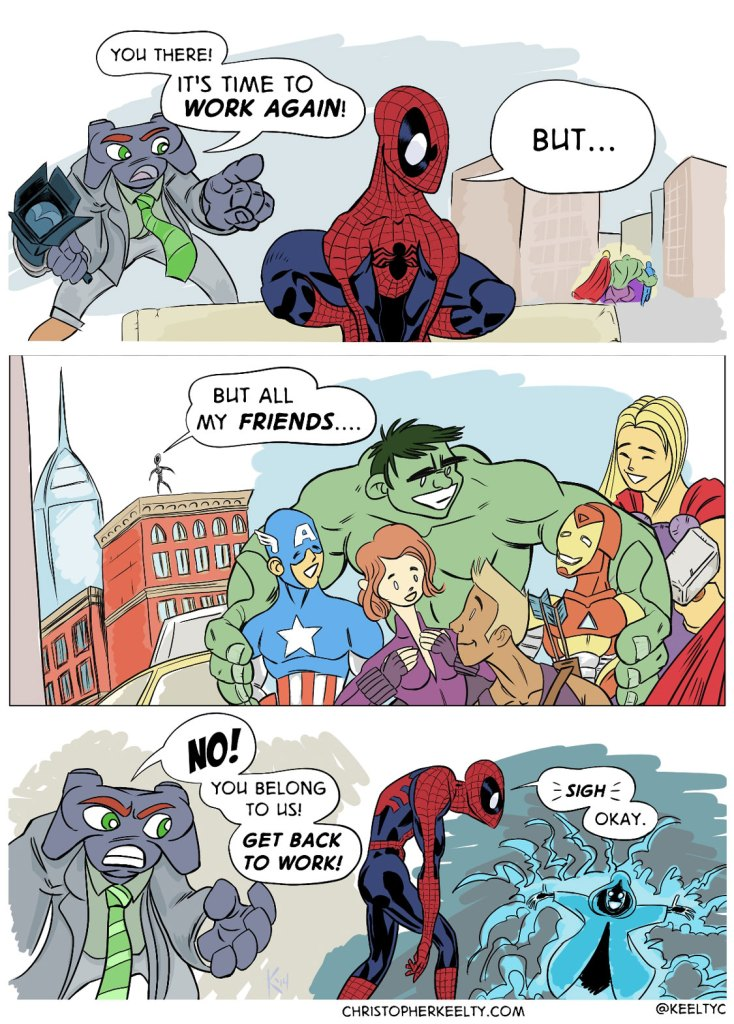 Sony-Man - Comic by Christopher Keelty