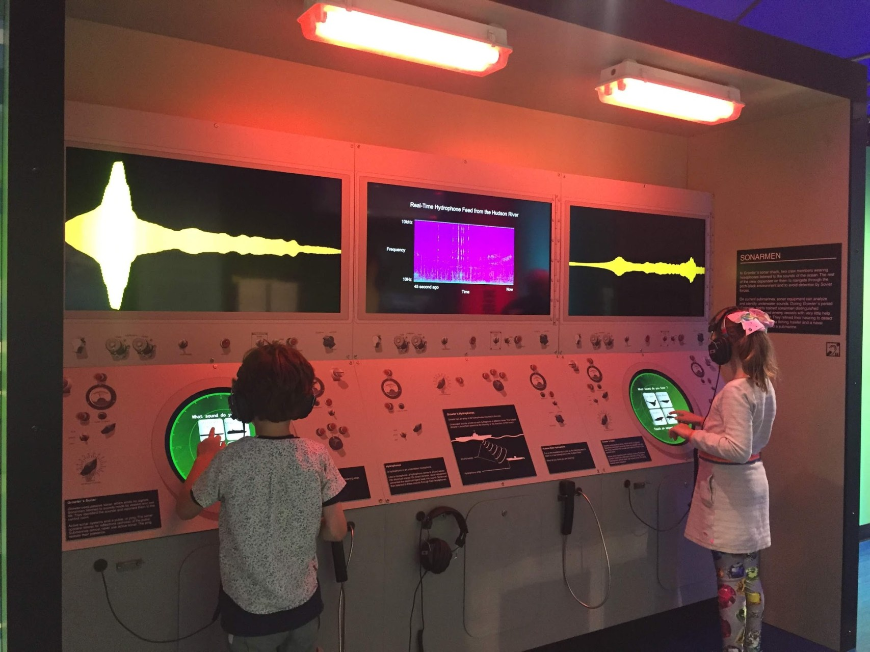 Intrepid Air and Space Museum – Interactive Installations