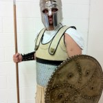 "Hoplite, for ""Favoured of the Gods"", 2011"
