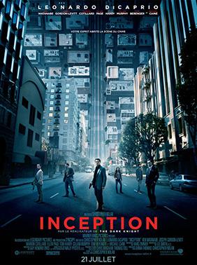 Affiche française d'Inception