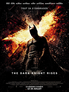 Affiche française de The Dark Knight Rises
