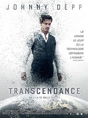 Affiche française de Transcendance