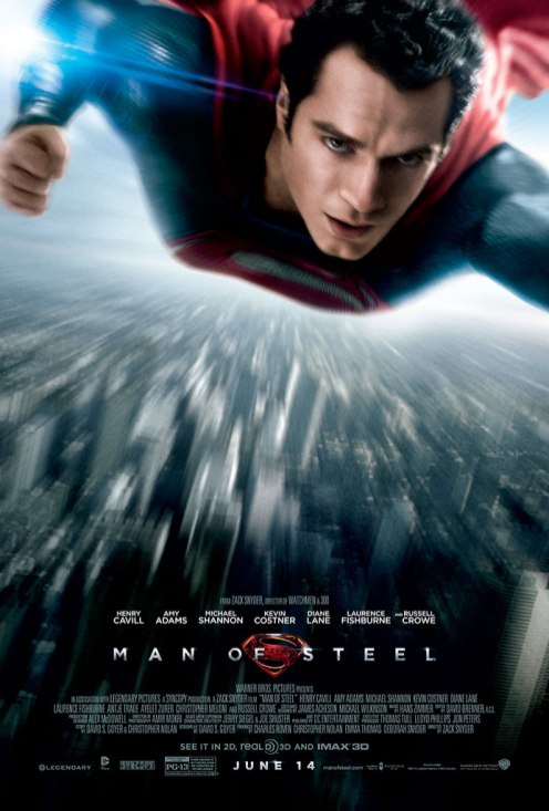 Affiche définitive de Man of Steel