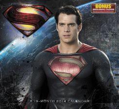 Superman sur le calendrier de 2014