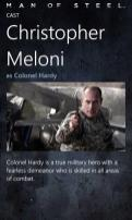 Christopher Meloni / Colonel Hardy