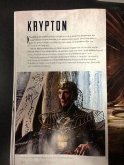 Un membre du conseil de Krypton