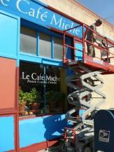 «Le Café Miche» repeint pour le film