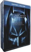 La trilogie The Dark Knight en Blu-ray