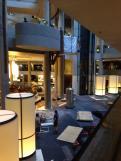 L'intérieur du Westin Bonaventure Hotel décoré pour le tournage d'Interstellar à Los Angeles