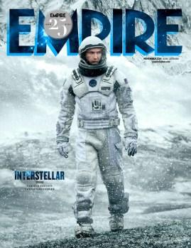 Couverture de l'édition limitée du magazine Empire de novembre 2014