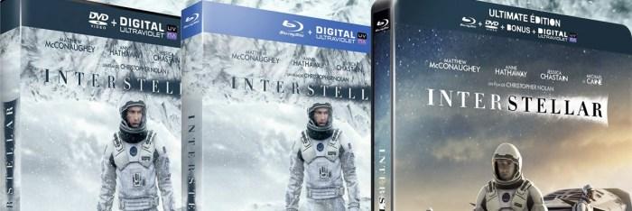 Interstellar : Sortie française en VOD, DVD & Blu-ray