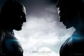 Affiche de Batman v Superman du Comic-Con 2015