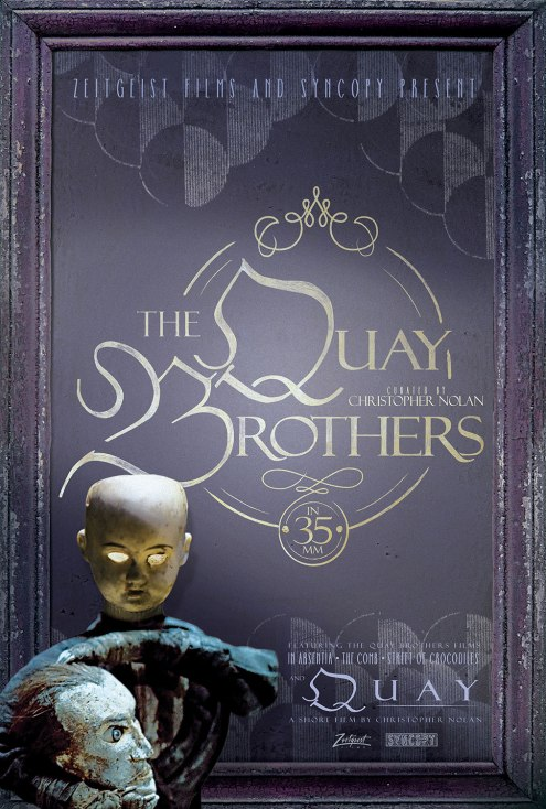 Affiche de l'événement The Quay Brothers in 35mm