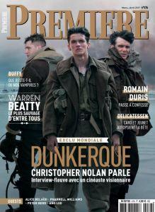 Couverture du magazine Première de mars - avril 2017