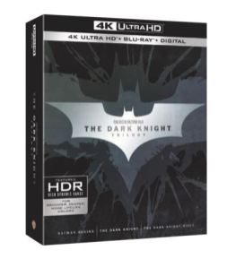 The Dark Knight Trilogy 4K Ultra HD