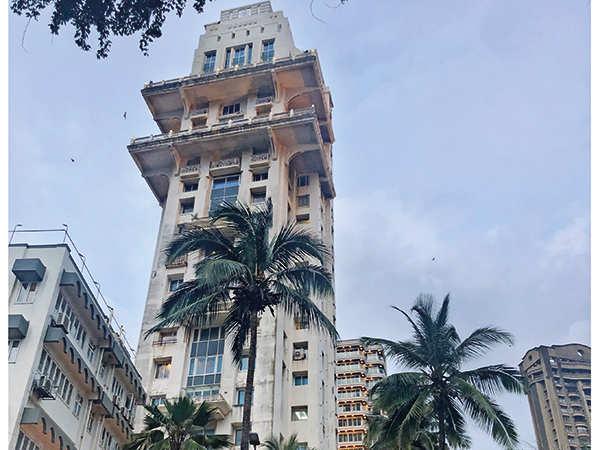 Un building de Breach Candy à Mumbai, Inde, utilisé pour le tournage de Tenet