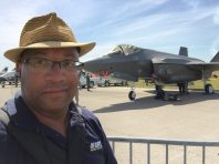 """Christopher C. Odom on location with """"Airborne Unlimited"""" at the Sun n Fun Flyin 2016 in Lakeland, FL"""