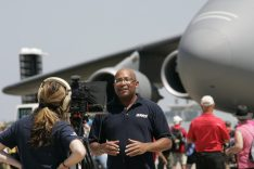 """Christopher C. Odom on location with """"Airborne Unlimited"""" at EAA AirVenture 2016 in Oshkosh, WI"""