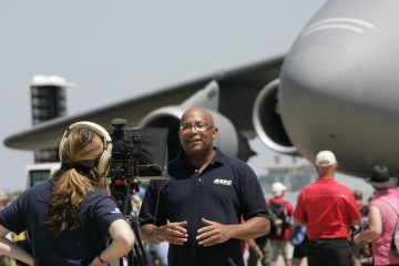 "Christopher C. Odom on location with ""Airborne Unlimited"" at EAA AirVenture 2016 in Oshkosh, WI"