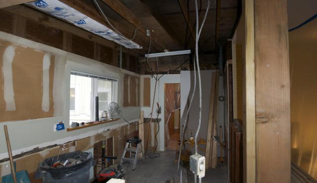 Kitchen demolition day 4
