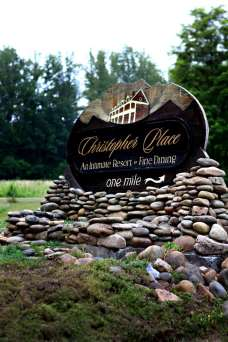 Christopher Place Resort Sign