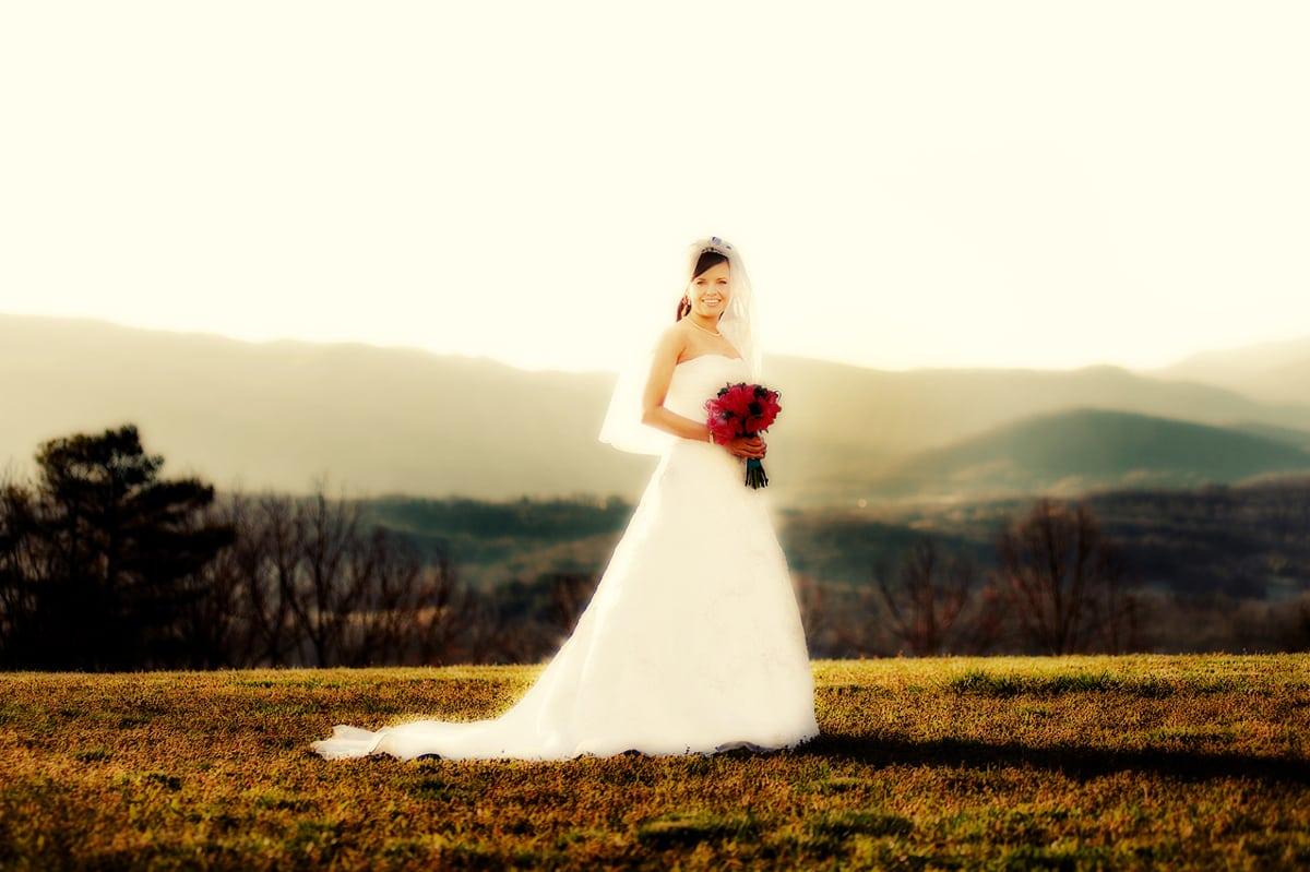 smoky mountain weddings elopements bride