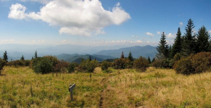 andrews bald smoky mountain hiking small