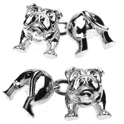 bulldog cufflinks