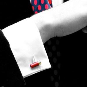 Christopher Simpson Shotgun Cartridge Cufflinks