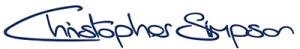 Christopher Simpson Cufflinks Logo