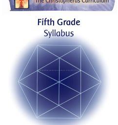 Christopherus Homeschool Resources » Fifth Grade Curriculum [ 3311 x 2550 Pixel ]