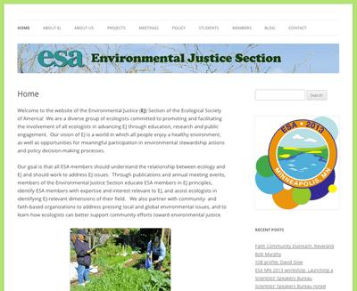 ESA EJ site