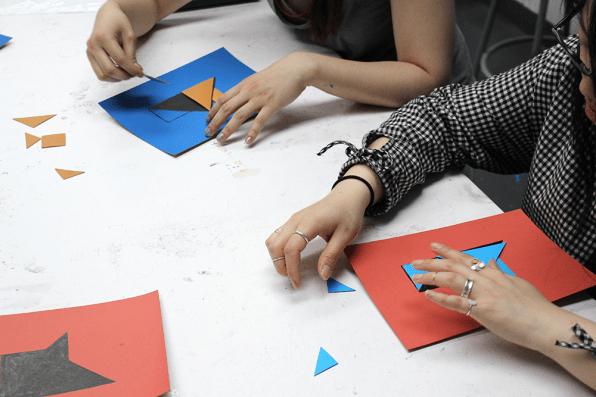 Optimal Design Tangrams © Thornton Kimmell (Project Summary)