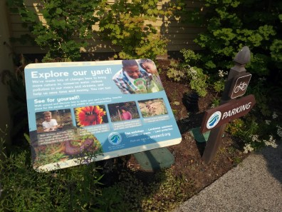 The East Multnomah Soil & Water Conservation District building has created a yard designed to educate residents in more sustainable landscape architecture.