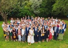 photo de famille mariage Douarnenez