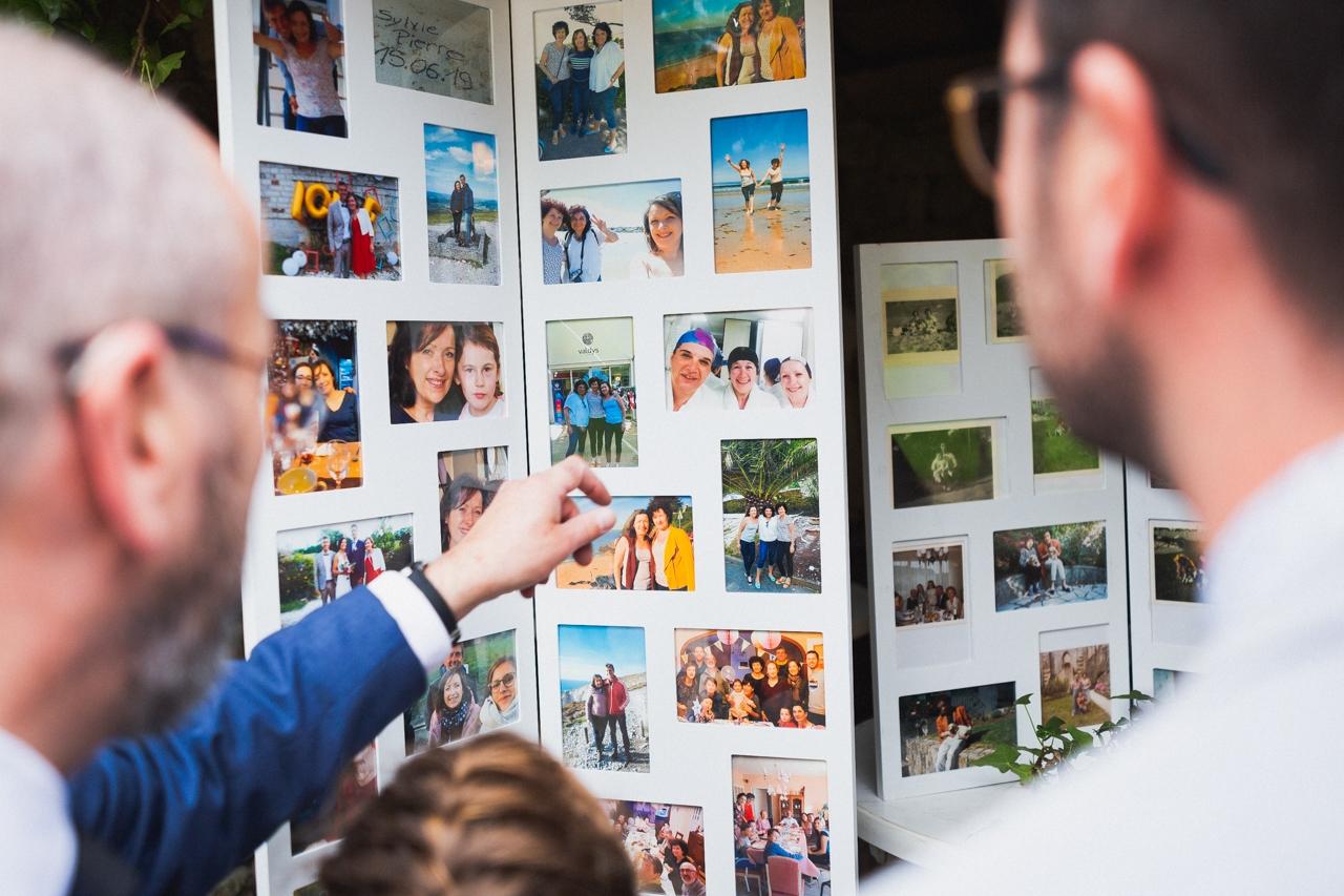 coiffure de la mariée photographe de mariage à Quimper Pont Labbe cocktail mariage Pont Labbe brest